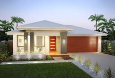 brick single story house facades - Google Search