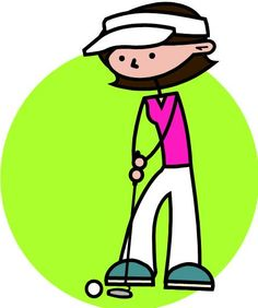 lady golfer clip art download free golf clipart graphics golf rh pinterest com clip art golf course clipart golf
