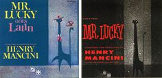 Mr. Lucky Television Series -- soundtrack albums by Henry Mancini