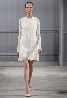 Monique Lhuillier Spring 2014 - The Gallery - Wedding Blog | Ireland's top wedding blog with real weddings, wedding dresses, advice, wedding hair styles, wedding venue guides and more