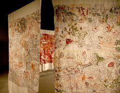 Anna Torma | Weekly Artist Fibre Interviews | Fibre Art | International | Canadian | World of Threads Festival | Contemporary Fiber Art Craft Textiles | Oakville Ontario Canada ****