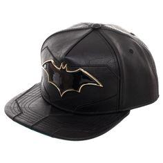 03b72ea9d9bf8 Batman Cap - Rebirth Suit Up Snapback. Leather Baseball CapHeadgear SnapbackBatmanHatsClothesOutfitClothingKleding