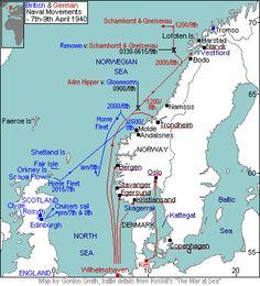 Norway, including 1940 Norwegian Campaign in World War 2