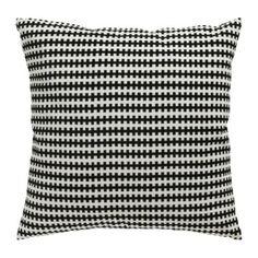 Ikea STOCKHOLM Cushion Pillow Cover + Duck feather Insert, Cotton Velvet black, white Ikea http://www.amazon.com/dp/B00A4GL9OG/ref=cm_sw_r_pi_dp_cyieub11YERGT