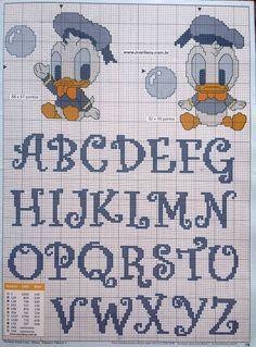 Alfabeto con Paperino baby
