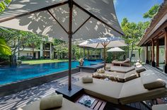 Lohono has the best luxury villas on rent in Bali, Indonesia with private pool. If you are looking for a 1 or 4 bedroom villa for holiday vacation rental in Seminyak Bali, Lohono Stays is the right place to look. Thing 1, Luxury Villa Rentals, Beautiful Villas, Luxury Accommodation, Luxury Holidays, Bungalow, Swimming Pools, Patio, Outdoor Decor