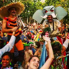 O dia oficial de Carnaval conta com blocos tradicionais e alternativos