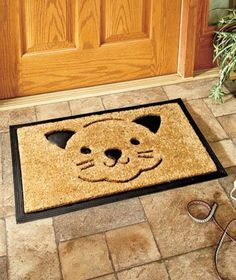 Kitties At Your Front Door   Pretty, Cute, And Funny Cat Doormats To Bring  A Small To The Face Or Tug At The Heart Strings Of Any Cat Lover.