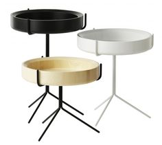 Drum inspired bowl table | Swedese