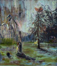 Magic Story, oil on canvas,150x130cm, 2017