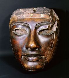 Country of Origin: Egypt. Date/Period: New Kingdom. Credit Line: Werner Forman Archive/ British Museum, London . Ancient Egyptian Artifacts, Ancient Art, Ancient History, Art History, Egyptian Mask, Egyptian Mummies, Egypt Mummy, Egypt Museum, Egypt News