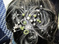 pearl hair pin by xunantonich on Etsy, $15.00