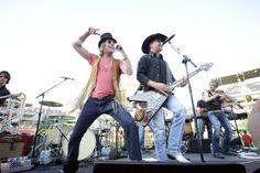 """Dynamic country duo Big & Rich will light up the Paul Paul Theater stage tomorrow night (10/14/16) at 7 p.m.! Their hits such as """"Save a Horse (Ride a Cowboy)"""" and """"Look at You"""" will have Fairgoers on their feet throughout the entire performance! Limited amount of tickets still available for only $35/$30. Get yours now!  All part of the Table Mountain Concert Series presented by  Coors Light and Toyota."""