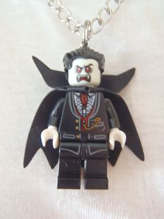 Custom LEGO Monster Fighters - Vampire Necklace