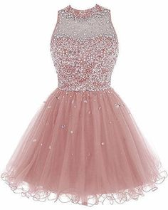 9c8dee7a5b2 A026 Sleeveless Beaded Tulle Sweetheart Homecoming Dresses 2017. Short  Homecoming DressesChampagne ...