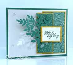 I have a free PDF tutorial for this card so please visit my blog to download it! Tracy Bradley, Independent Stampin' Up! Demonstrator www.stampingwithtracy.com Diy Paper, Paper Crafts, Love Stamps, Stamping Up Cards, Heartfelt Creations, Paper Pumpkin, Craft Supplies, Stampin Up, Birthday Cards