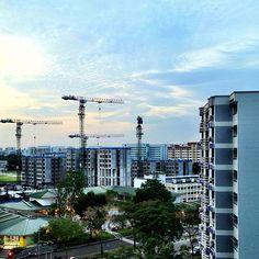 初二好天氣!This is Singapore! #sky #weather #blue #architecture #building #cny #singapore #sg  #dragonyear #lunarnewyear #iphone4s #guosheng #guoshengz