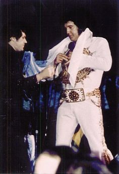 Elvis Presley on Tour....June 24, 1977 (8:30 pm) Madison, WI.