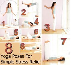 DIY Home Remedies, Kitchen Remedies and Herbs - http://www.remediesandherbs.com/top-8-yoga-poses-for-simple-stress-relief/