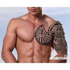 marquesan tattoos for girls Fake Tattoos, Tribal Tattoos, Tattoos For Guys, Tatoos, Fake Tattoo Sleeves, Sleeve Tattoos, Temporary Tattoo Sleeves, Maori Tattoo Designs, Marquesan Tattoos