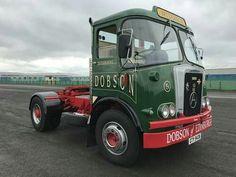 Seddon Atkinson FC Black Night Vintage Trucks, Old Trucks, Bedford Truck, Old Lorries, Truck Paint, Train Truck, Cab Over, Heavy Truck, Commercial Vehicle
