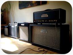 Nice line up of Stunning Brunetti Amps!