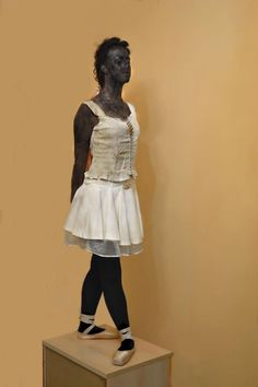 "Degas' ""The Little Dancer""  -- by Floida and Fabiloa Skraqi"