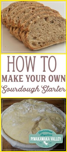 There is nothing like biting into a fresh, warm, chewy, slightly sour slice of sourdough bread. Lucky for us making your own sourdough starter is super easy. #sourdough #bread #recipe #homesteading