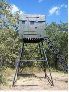 how to build 4x4 enclosed tree stand