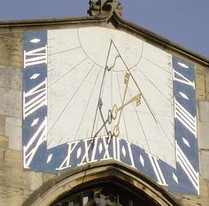 Sundial at St Peter Mancroft, Norwich City Quotes, Rome City, Sundial, Ancient Rome, Pop Up, Medieval, Tower, English, Clocks