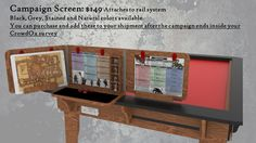 Table of Ultimate Gaming: The Ultimate Game Table System by Wood Robot — Kickstarter