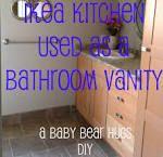 ikea hack bathroom vanity - Google Search