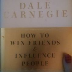 It amazes me how a book written over 80 years ago can still be so applicable today! I'm about halfway through and loving it.  #mustread #howtowinfriendsandinfluencepeople #dalecarnegie