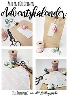 Free Printable // Download // Adventskalender // Zahlen // Lettering Templates Printable Free, Free Printables, Lettering, Place Cards, Place Card Holders, Stocking Stuffers, Christmas, Deco, Free Printable