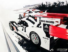 919 & 911 Cars-Art