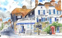 Róisín Curé - The Miracle of Unconditional Love: A Wedding in Kent (Urban Sketchers)