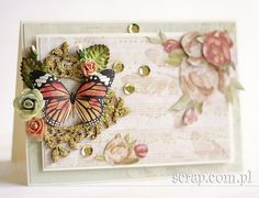Scrapbook Cards, Scrapbooking, Butterfly Cards, Cardmaking, Decorative Boxes, Paper Crafts, Anna, Mixed Media, Home Decor