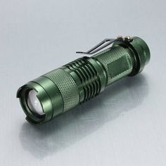Specification: Product name: MECO Q5 Mini LED Flashlight Brand: MECO Emitter Type: Q5 Material: Aluminum Alloy Mode: 1mode Battery Configurations: 1xAA 1.5v /14500 3.7v battery(not included) Switch Ty