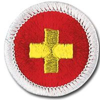 most important merit badge a boy scout can earn, first aid
