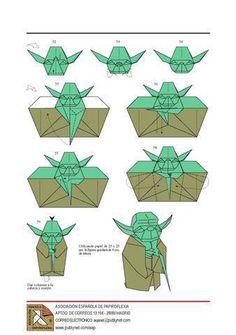 Origami Design - Jedi Master Yoda How-To Tutorial