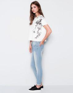 Pull&Bear-jeans pitillo básico