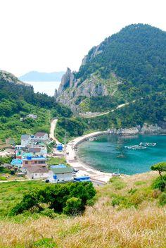 Tongyeong, a coastal city in Gyeongsangnam-do, South Korea