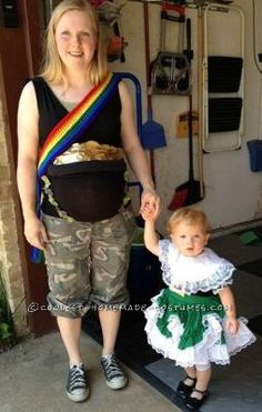 Marvelous Coolest Pot Of Gold Maternity Costume