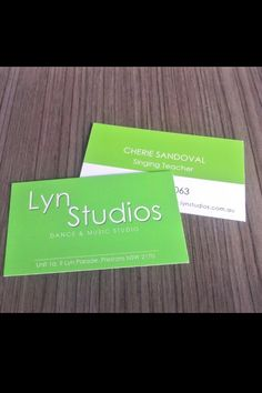 My new buisness cards ! Love the colour my boss went with, very neat,classy and simple. ✔ www.lynstudios.com.au