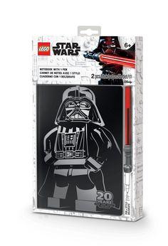 Anteckningsbok med Darth Vader och ljussabelspenna för alla Star Wars™-fans! Audi A6, Boutique Lego, Sabre Laser, Neutral, Lego System, Lego Store, Lego War, Lego Group, Darth Vader