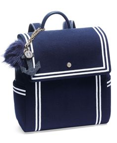460b1584433e Sail into trend-right style with Tommyxgigi s nautical-themed mini  backpack.