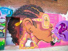 Graffiti in Bushwick, Brooklyn