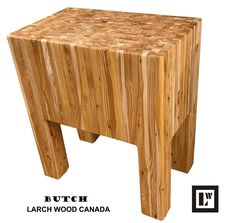 Larch Wood Canada End Grain Large Cutting Board, Handcrafted for Professional Chefs & Home Cooking, x x + Larch Wood Beeswax and Mineral Oil Conditioner oz/ Custom Countertops, Wood Countertops, Large Cutting Board, Butches, Work Surface, Kitchen Essentials, Kitchen Art, Custom Wood, Home Kitchens