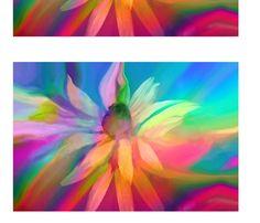 Flower Power fabric by freespirit on Spoonflower - custom fabric