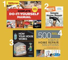 Best home repair books for the reluctant handy woman in training best home repair books for the reluctant handy woman in training home improvement pinterest solutioingenieria Image collections